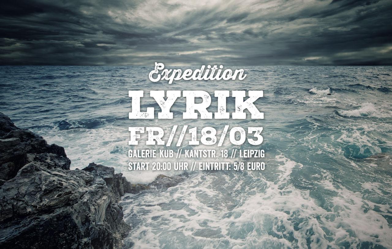 Expedition Lyrik